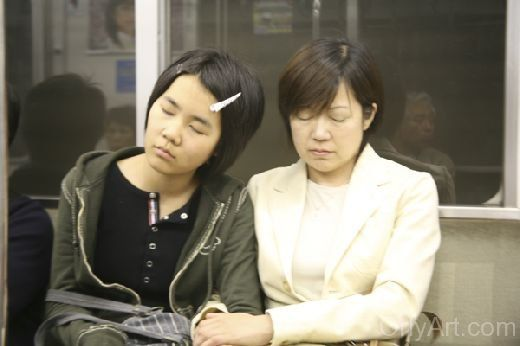Train Sleeping